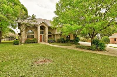 Round Rock Single Family Home For Sale: 1 Forest Mesa