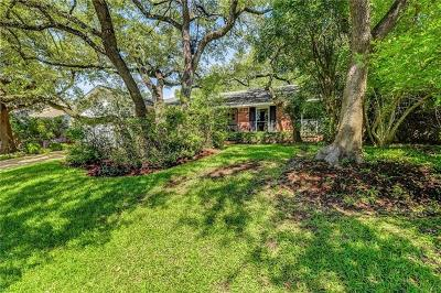 Austin Single Family Home For Sale: 8509 Alverstone Way