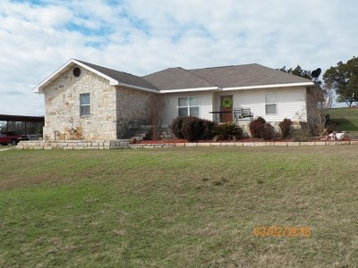 Burnet Single Family Home For Sale: 404 Pathway