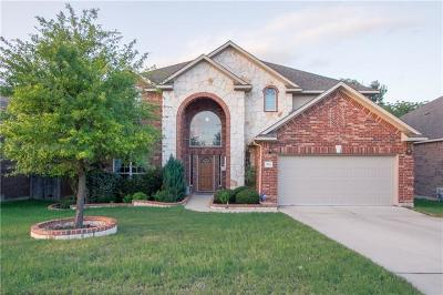 Cedar Park Single Family Home Pending - Taking Backups: 304 Walsh Glen Dr