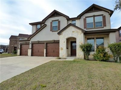 Leander Single Family Home For Sale: 1216 Yellow Iris Rd