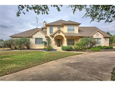 Dripping Springs Single Family Home For Sale: 306 Saddle Blanket Dr