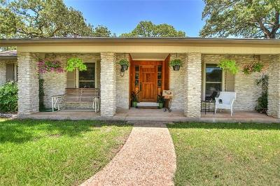 Round Rock Single Family Home Pending - Taking Backups: 1924 Great Oaks Dr