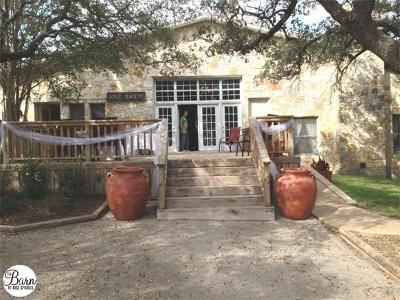 Dripping Springs Single Family Home For Sale: 4000 Bell Springs Rd