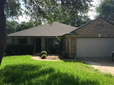 Cedar Park Rental For Rent: 1504 Santana St