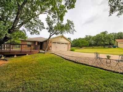 Lago Vista Single Family Home Pending - Taking Backups: 4002 Clinton Ln