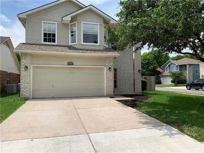 Pflugerville Single Family Home Pending - Taking Backups: 16910 Isle Of Man Dr
