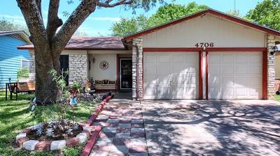 Hays County, Travis County, Williamson County Single Family Home For Sale: 4706 Candletree Ln