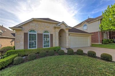 Round Rock Single Family Home For Sale: 1829 Paradise Ridge Dr
