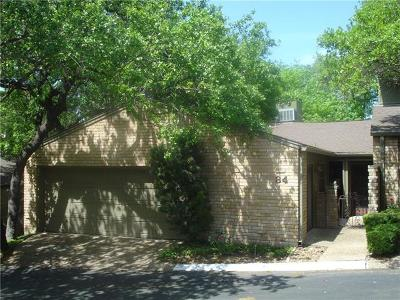 Austin Condo/Townhouse For Sale: 34 Woodstone Sq