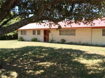Giddings Single Family Home For Sale: 1454 Fm 141