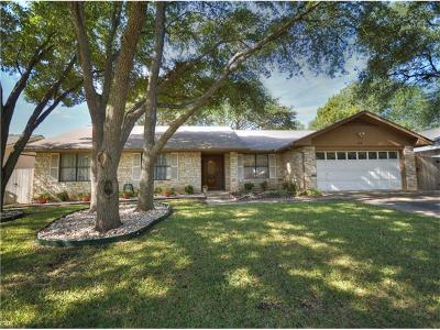 Austin Single Family Home For Sale: 11412 Charred Oak Dr