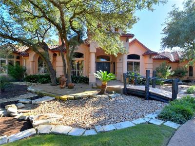 Round Rock Single Family Home For Sale: 2317 Woodway