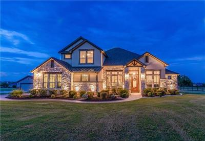 Liberty Hill Single Family Home For Sale: 108 Claimjumper