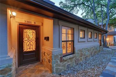 Austin Condo/Townhouse For Sale: 3301 Pecos St #B