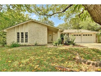 Austin Single Family Home For Sale: 1311 Cripple Creek
