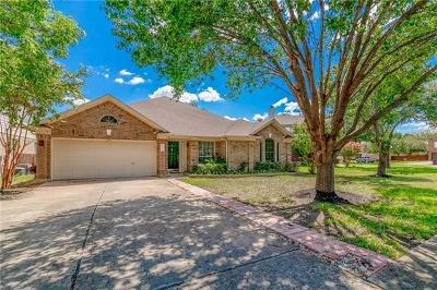 Round Rock Single Family Home Pending - Taking Backups: 4416 Hunters Lodge Dr