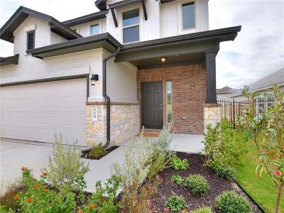 Leander Single Family Home For Sale: 608 Cinnamon Teal Ln