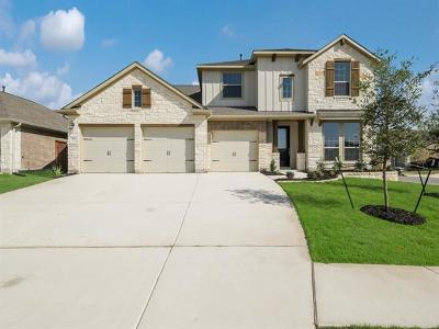 Liberty Hill Single Family Home For Sale: 100 Mindy Way