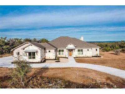 Burnet County Single Family Home Pending - Taking Backups: 310 Vista View Trl