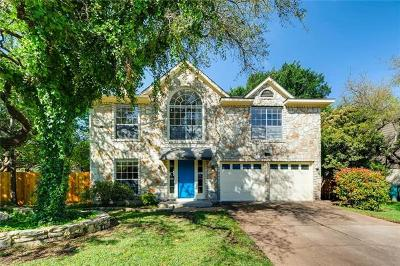 Cedar Park Single Family Home For Sale: 2802 Beechnut Trce
