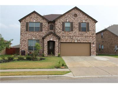 Hutto Single Family Home For Sale: 323 Carrington St