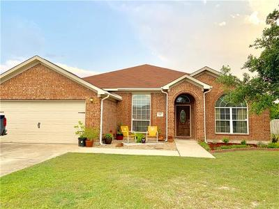 Lockhart Single Family Home For Sale: 621 Winecup Cir