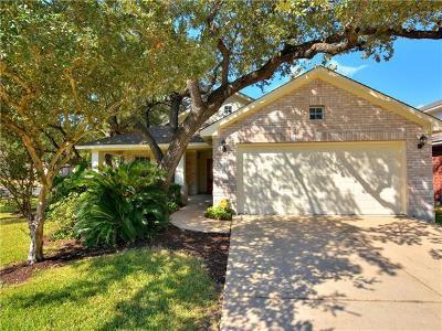 Cedar Park Single Family Home For Sale: 2209 Portwood Bend Cv