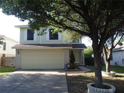 Round Rock Single Family Home For Sale: 3808 Top Rock Ln