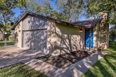 Cedar Park Single Family Home Pending - Taking Backups: 2501 Bois D Arc Ln