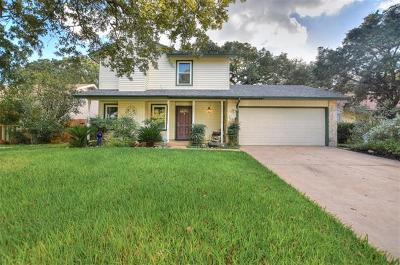 Cedar Park Single Family Home Pending - Taking Backups: 705 Twin Oak Trl