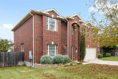 Cedar Park TX Single Family Home For Sale: $334,500