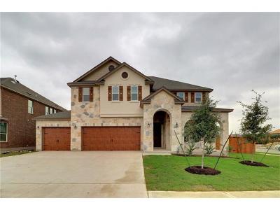 Leander Single Family Home For Sale: 1124 Brenham Ln
