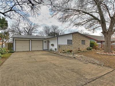 Austin Single Family Home Pending - Taking Backups: 9907 Woodstock Dr