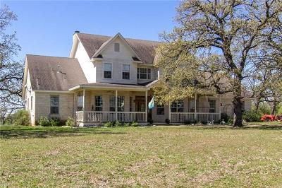 Elgin Single Family Home For Sale: 3022 Fm 1704