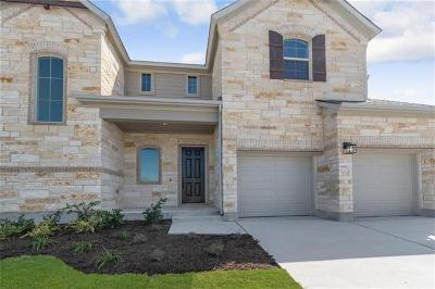 Round Rock Single Family Home For Sale: 6613 Verona