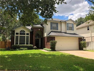 Round Rock Single Family Home For Sale: 1004 Hawk Ct