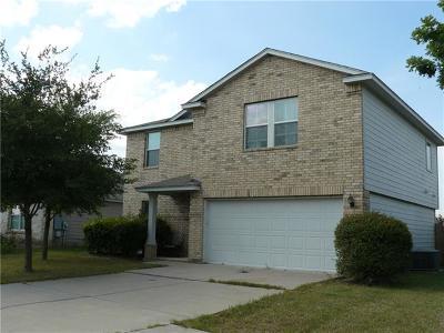 Manor Single Family Home For Sale: 13229 High Sierra St