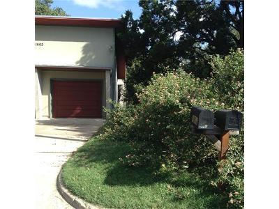 Austin Single Family Home For Sale: 1602 Morgan Ln