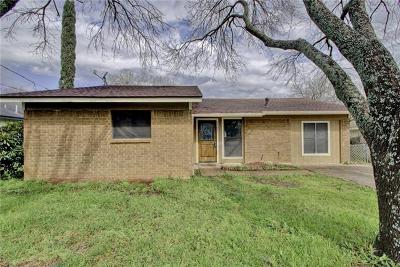 Georgetown Single Family Home Pending - Taking Backups: 1701 Quail Valley Dr