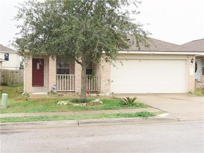 Del Valle Single Family Home Pending - Taking Backups: 12313 Sky Harbor Dr