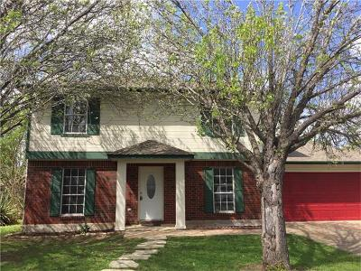 Cedar Park Single Family Home Pending - Taking Backups: 601 Harvest Cv