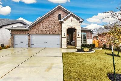 Leander Single Family Home For Sale: 3024 Desert Shade Bnd