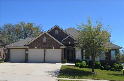 Cedar Park Single Family Home For Sale: 3700 Bedrock Ct