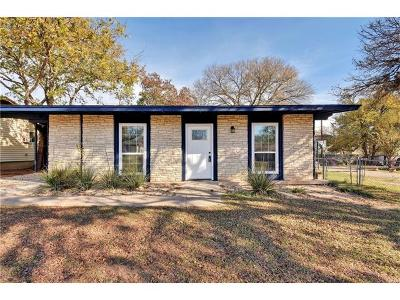 Austin Single Family Home For Sale: 5106 Star Light Ter
