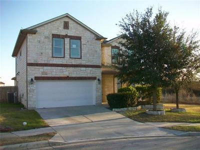Kyle Single Family Home For Sale: 451 Buckingham Dr