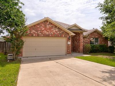 Round Rock  Single Family Home For Sale: 4499 Heritage Well Ln