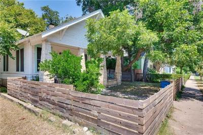 Austin Single Family Home For Sale: 1000 Willow St