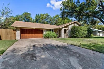 Austin Single Family Home For Sale: 9214 E Hunters Trce