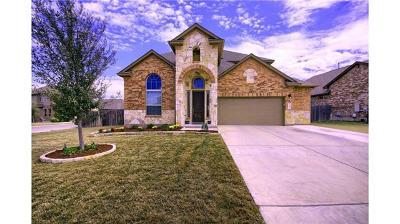 Leander Single Family Home For Sale: 3010 Tempe Dr